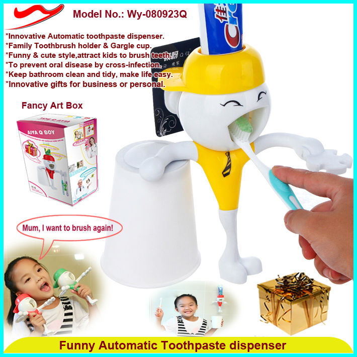 Innovative toothpaste dispenser hot sale household sundries