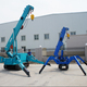 3 ton mini narrow spare electric crawler crane KB3.0 spider crane