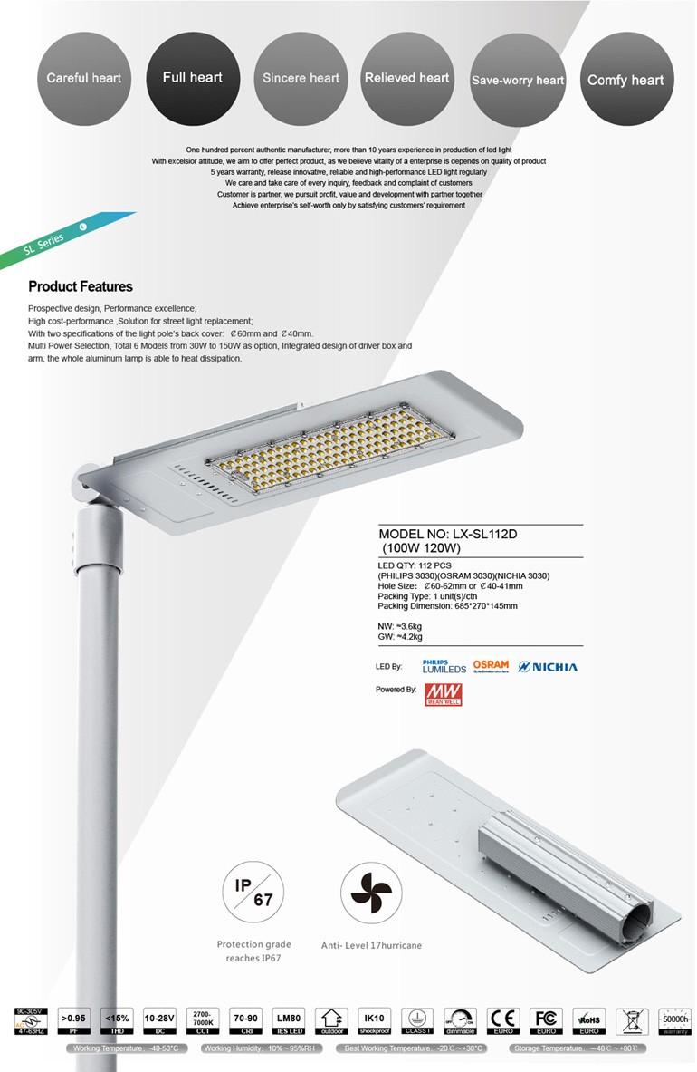 7 Years Warranty Led Solar Garden Light 100 Watt Led Street Light ...
