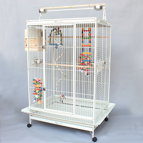 factory supply wrought iron bird cages B23