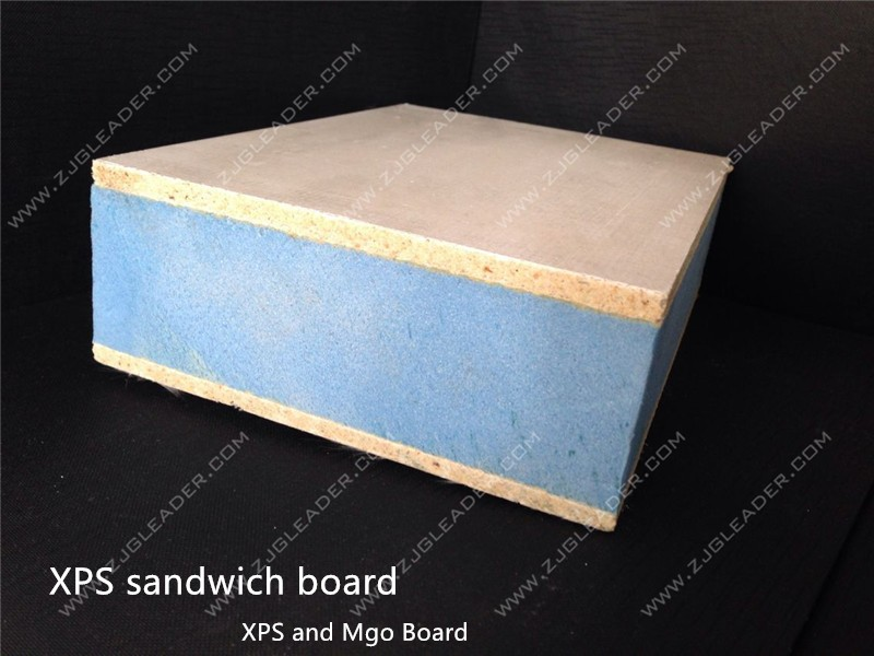 Structural insulated panel sip eps xps mgo sandwich for Diy structural insulated panels