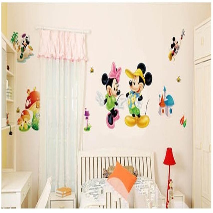 decoration chambre minnie mouse. Black Bedroom Furniture Sets. Home Design Ideas