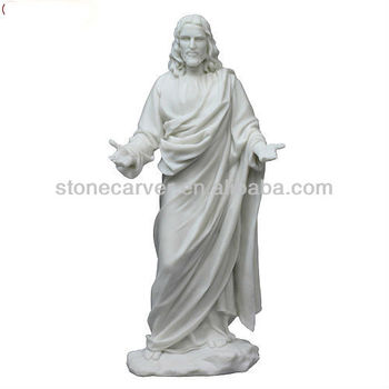 Exceptional Resin Religious Jesus Garden Statues