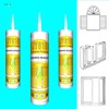 JY810 general purpose acetic rtv curing silicone sealant dow corning rtv silicone sealant