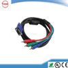 HD15 (VGA) Male to RCA x 3 Male VGA to Component Video cable in china