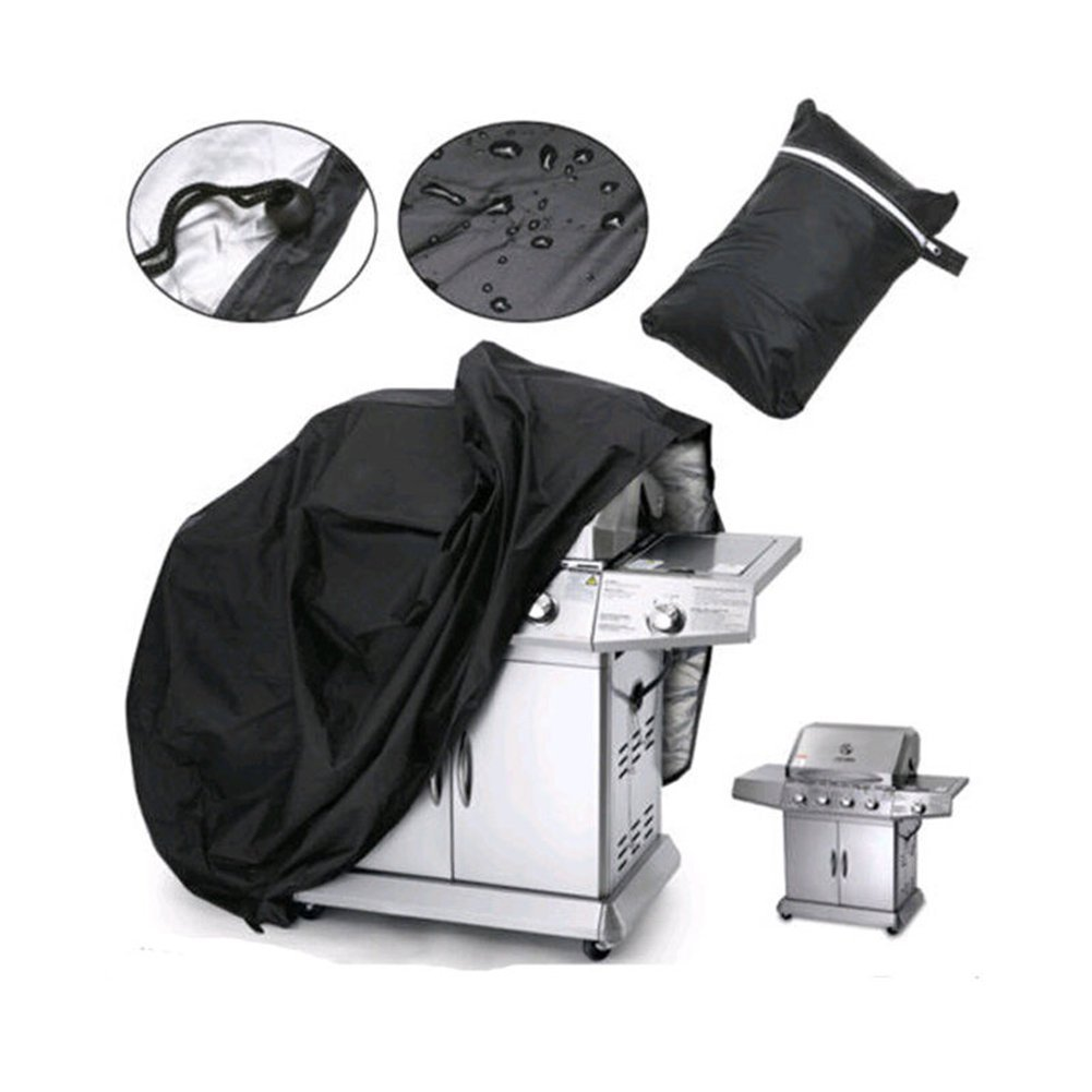 Get Quotations 77a Outdoor Bbq Grill Covers 57 Inch 210d Heavy Duty Waterproof Barbecue Cover For Home