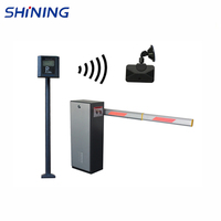 No-touch IC/ ID/ bar code/ RFID/ charge automatic parking barrier gate