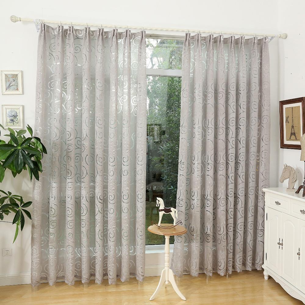 Fashion Design Modern Curtain Fabric Living Room Curtain
