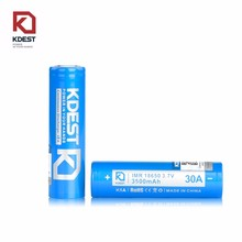 Kdest K5A 18650 3500mAh 3.7V 8650 rechargeable battery wholesale from China