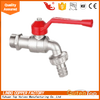 LB-GutenTop chrome plated zinc and brass Bibcock Ball Valve with lock male BSP/NPT thread hosecock
