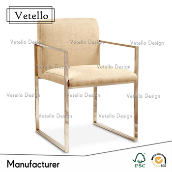 Vintage Metal Chair, French Country Leather Upholstered Chair, Industrial Metal  Chairs Wholesale