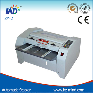 ZY-2 Automatic stapler booklet maker machine
