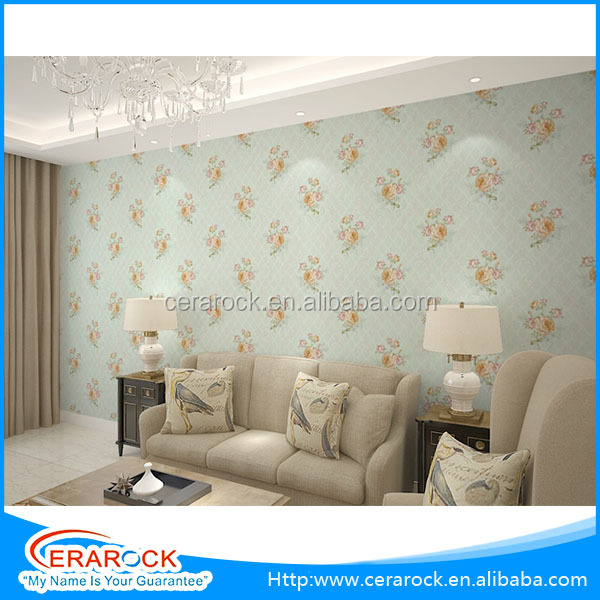 european styled decorative wall paper self adhensive decorative mural and wallpaper
