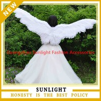 220cm adult size large feather angel wings