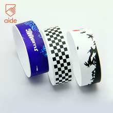AIDE Personalized Tyvek Wristband Kids Paper ID Armband