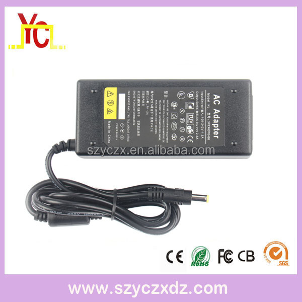 AC/DC Desktop power adapter 24V 2.5A 60W Direct Manufacturer LED Lighting Security monitoring