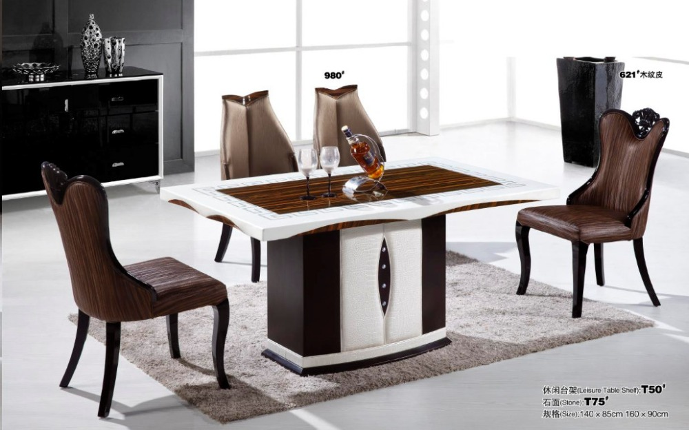 New Design Modern Marble Top Dining Table For Room Furniture Whole In Tables From On Aliexpress Alibaba Group