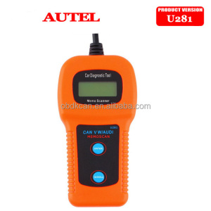 2017 New U281 Airbag Auto Car Care Memoscanner automobile Diagnostic Tool Engine Code Reader scan tool for audi