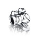 LZESHINE New product mandarin duck style 925 sterling silver jewelry charm bead