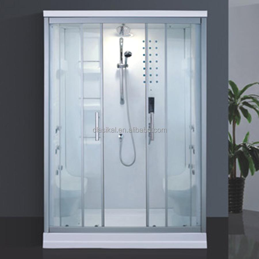 china el proveedor de dos persona blanco color de bao cabina de ducha de vapor