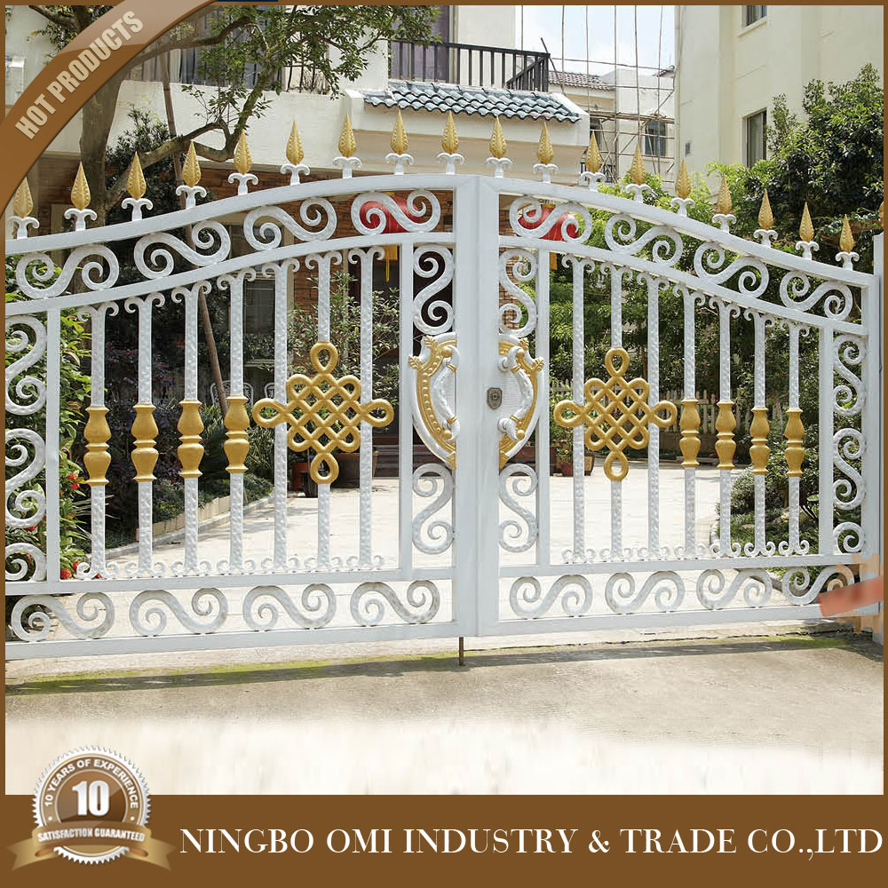 Powder Coated Chain Link Nesh Fence And Gate/beautiful Design Of ...