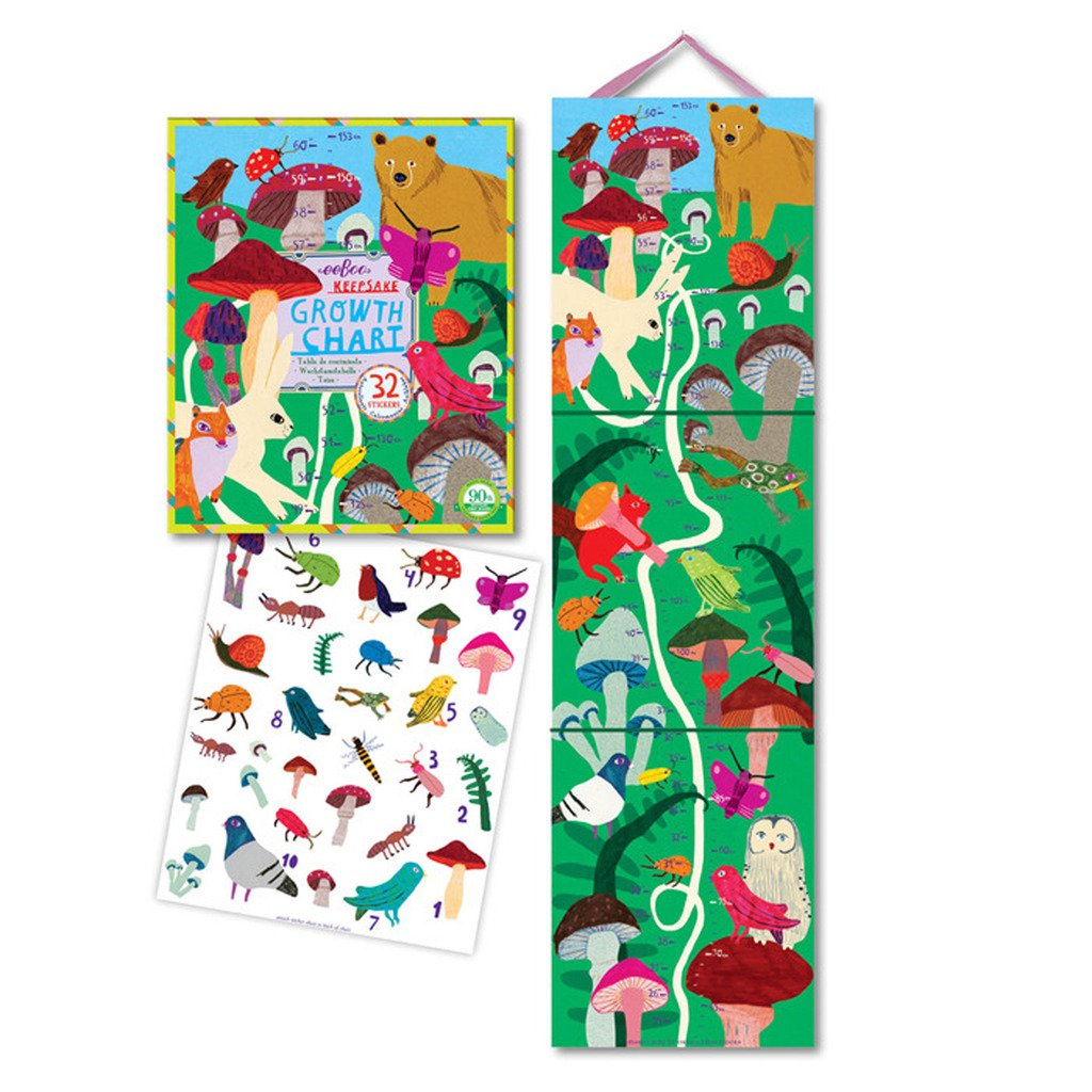 Cheap kids height growth find kids height growth deals on line at get quotations eeboo mushroom height growth chart for kids nvjuhfo Gallery