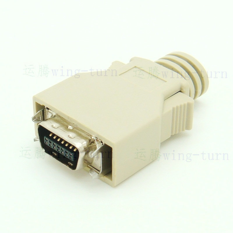 Monoprice 100391 25-Feet DB-25 IEEE-1284 Male Cable HPCN36 100391 Male to Mini//Micro Centronic 36 IE