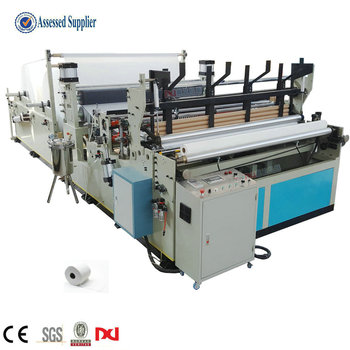 High Speed Toilet Roll Paper Manufacturing Machine For