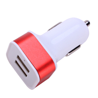 2018 High quality New Dual USB Car Charger 5v 2.1A portable car chargers