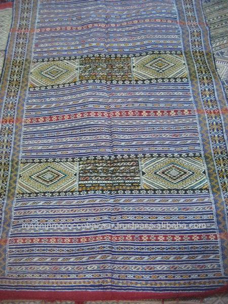 Tradicional marroqu kilim alfombra hecha a mano 3 2 for Alfombra kilim precio