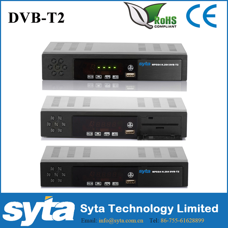 SYTA dvb-t/t2 hd digital homemutil-choice panel <strong>stb</strong> TV Receiver fta TV <strong>Box</strong>