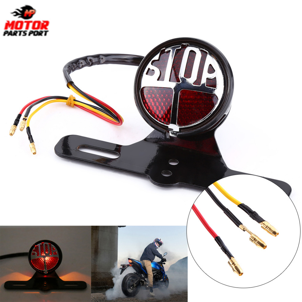 motorcycle rear tail lights