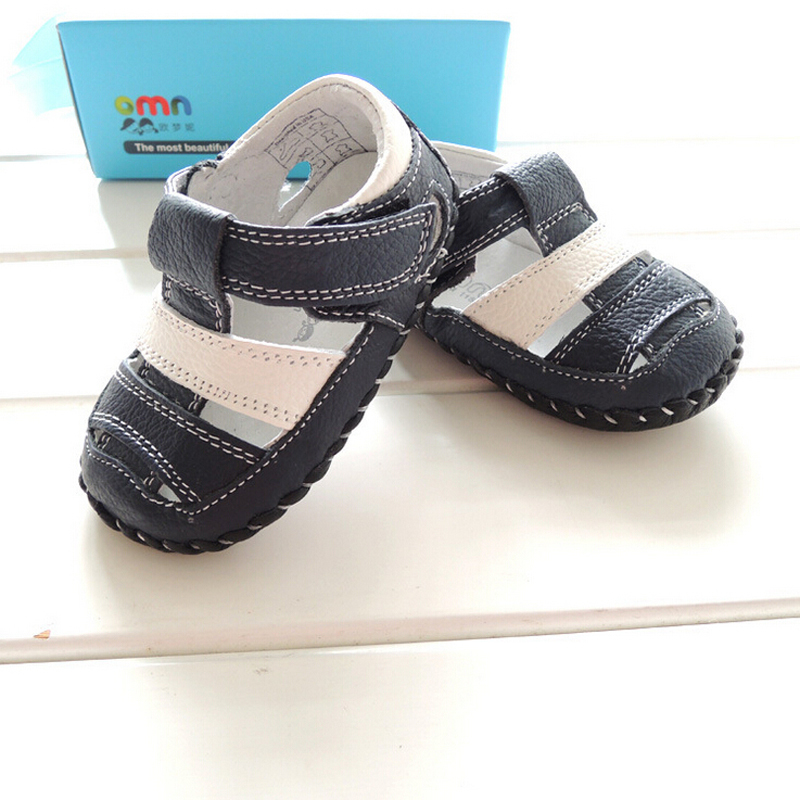 2015 Baby boys genuine leather shoes branded soft skidproof breathable  first walker toddler infant baby boys shoes sandals XB4 80e75bbfbc5c