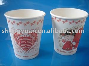 6oz to 16oz paper cups are available