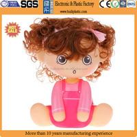 Custom vinyl doll figures,Make cartoon vinyl girls dolls figure,Custom vinyl 5 inch baby dolls