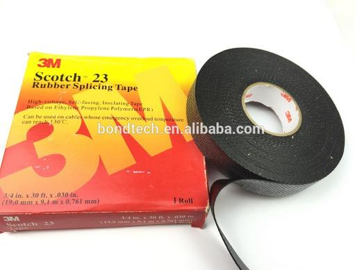 High Voltage Splicing Tape Scotch 23 Electrical Insulating