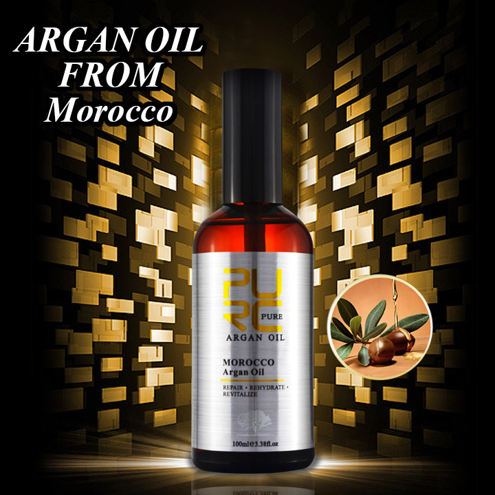 Natural ingredient argan oil not make skin have allergic reaction keep face more bright