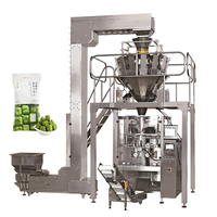 Vertical Pouch Multihead Weigher Granule Weighing And Packing Machine