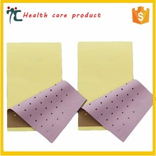 Porous muscle pain relief patch for relieving arthritis and backache