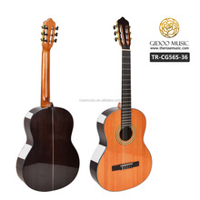 Solid Cedar guitar hand made classical guitar OEM factory