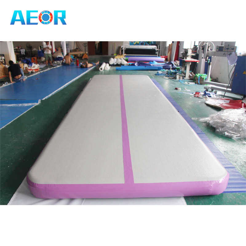 43dd5ebe84b3 6m air track gymnastics mats inflatable air track tumbling for outdoor  training