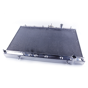 Chinese Manufacture High Performance Common Aluminum Radiator For Mitsubishi EVO 1 2 3 MT Cooling System