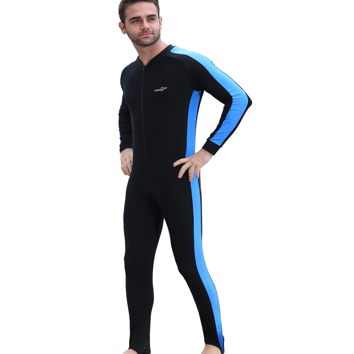 fa6c487baf Get Quotations · LUOOV Full Wetsuits Snorkeling Dive Skins Diving Suits