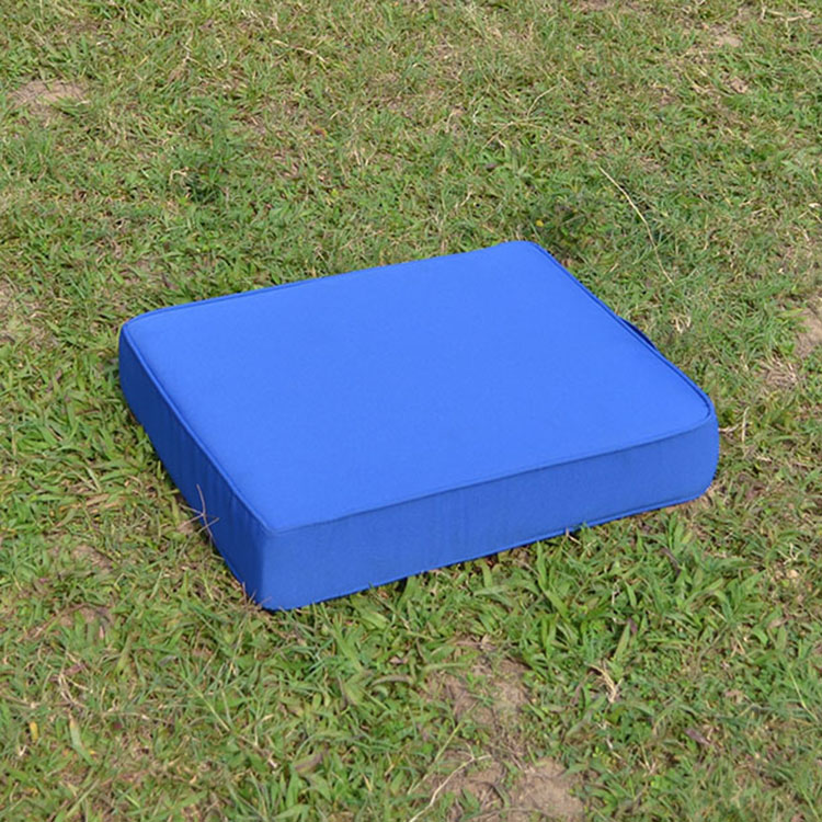 New style portable blue stadium seat cushion