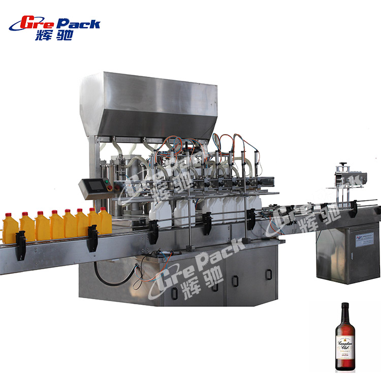 filling machine for bottled corn oil at a high speed china supplier
