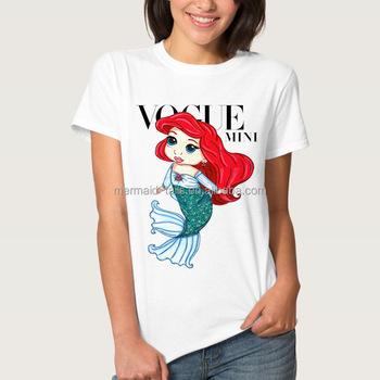 Grls Birthday Mermaid Shirt Girls Party T