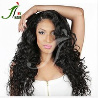 Factory wholesale cheap best quality indian natural hair wig unprocessed fashion human hair thin skin top lace wig