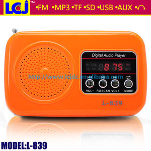 Hot sale very cheap mp3 players (L-839)