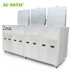 Medical Part Ultrasonic Cleaning And Passivation Tanks + Rinsing With Filters + Drying Tank For Medical Needles / Cannulae