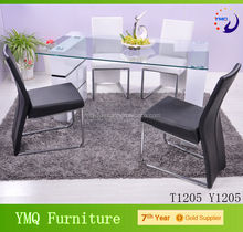 Modern living room 4 persons dining table and chair